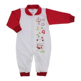 Imagem - Macacão de Bebê Menina Lapuko - 9950-macacao-lapuko-botao-vermelho