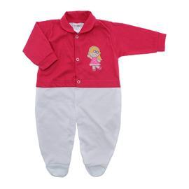 Imagem - Macacão de Bebê Menina Lapuko - 10079-macacao-estamp-mna-