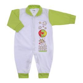 Imagem - Macacão de Bebê Menino Lapuko - 9054-macacao-lapuko-verde-medio