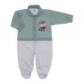 Imagem - Macacão para Bebê Lapuko - 10229-macacao-menino-cinza