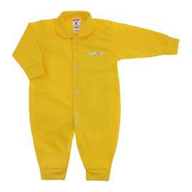 Imagem - Macacão em Malha Lapuko - 10106-mac-novo-lapuko-amarelo-bebe