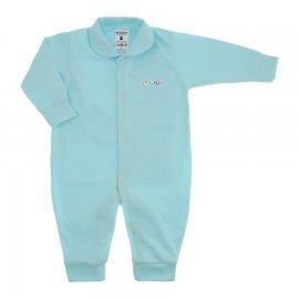 Imagem - Macacão em Malha Lapuko - 10106-mac-novo-lapuko-azul-bebe