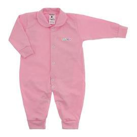Imagem - Macacão em Malha Lapuko - 10106-mac-novo-lapuko-rosa-bebe