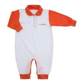 Imagem - Macacão de Bebê Lapuko  - 9940-macacao-lapuko-laranja
