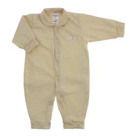 Imagem - Macacão Longo de Malha para Bebê  - 10017-macacao-listrado-lapuko-amare