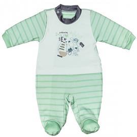 Imagem - Macacão Longo de Bebê Zig Mundi 6624 - 6624-sea