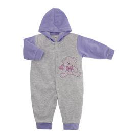Macacão para Bebê de Plush Estampado Lapuko