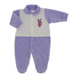 Imagem - Macacão para Bebê de Plush Lapuko - 10057-mac-plush-menina-lilas