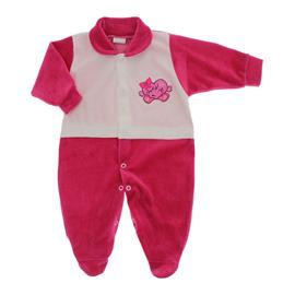 Imagem - Macacão para Bebê de Plush Lapuko - 10057-mac-plush-menina-pink