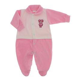 Imagem - Macacão para Bebê de Plush Lapuko - 10057-mac.plush-menina-rosa