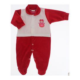 Imagem - Macacão para Bebê de Plush Lapuko - 10057-mac.plush-menina-vermelho