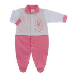 Imagem - Macacão para Bebê Lapuko - 10073-mac-lapuko-bco-chiclete