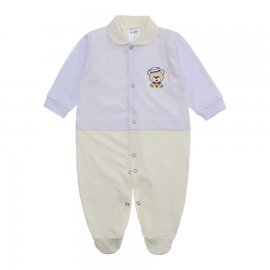 Imagem - Macacão para Bebê Lapuko - 10073-mac-lapuko-branco-creme