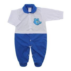 Imagem - Macacão para Bebê Lapuko - 10073-macacao-branco-royal