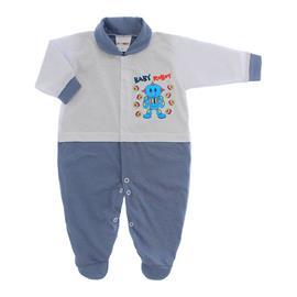 Imagem - Macacão para Bebê Lapuko - 10073-mac-lapukoboc-azul-medio
