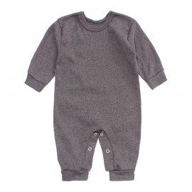 Imagem - Macacão para Bebê Lapuko - 10266-macacao-lapuko-marrom-mescla