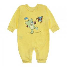 Imagem - Macacão para Bebê Menino Lapuko - 10262-macacao-ursinho-amarelo