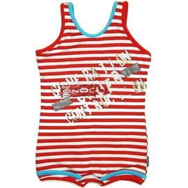 Imagem - Maiô de Bebê Siriri - 4985-Branco/vermelho atleta