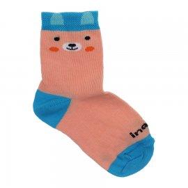 Imagem - Meia Infantil Estampada - 10198-meia-infantil-urso-salmão