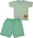 Pijama Infantil Manga Curta - Cod. 6386