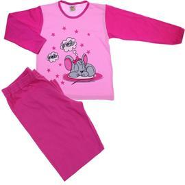 Pijama Infantil Menina Mouse Rosa
