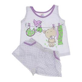 Imagem - Pijama Infantil Menina Varal  - 6000-Pijama Infantil Menina Varal
