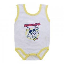 Imagem - Body de Bebê Regata Menino - 10186-body-regata-recreation-amarel