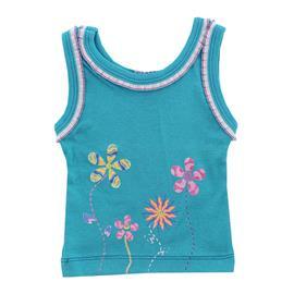 Imagem - Regata Infantil Summer Flowers - 9024-Regata Infantil Summer Flowers