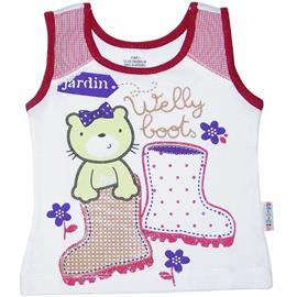 Imagem - Regata Infantil Menina Welly Boot - 4847-Regata Menina Welly Boot branc
