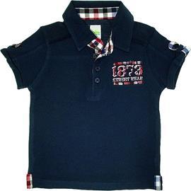 Imagem - Camisa Polo Infantil Menino  - 5594 - Marinho
