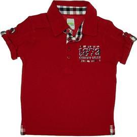 Imagem - Camisa Polo Infantil Menino  - 5594 - Vermelho