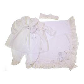 Imagem - Saida de Maternidade para Menina Zigmundi - 7106-marfim