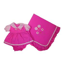 Imagem - Saida de Maternidade Vestido - 7400 Pink