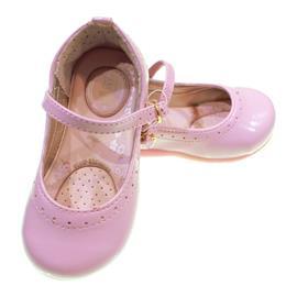 Imagem - Sapatinho de Verniz para Bebê Kidy Palmilha Medidora 7092 - 7092-rosa