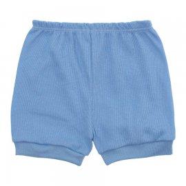 Imagem - Short Bebê Canelado Lapuko - 10240-short-canelado-azul-bebe