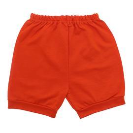 Imagem - Short para Bebê em Moletinho - 10098-short-moletinho-laranja
