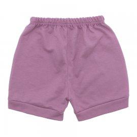 Imagem - Short para Bebê em Moletinho - 10098-short-moletinho-lilas