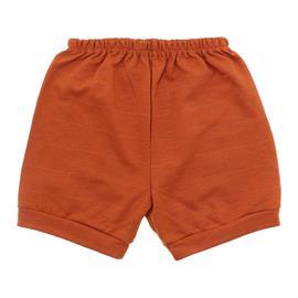 Imagem - Short para Bebê em Moletinho - 10098-short-moletinho-telha