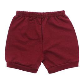 Imagem - Short para Bebê em Moletinho - 10098-short-moletinho-vinho