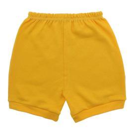Imagem - Short para Bebê Suedine Lapuko - 10100-short-suedine-amarelo-ouro