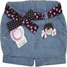 Imagem - Shorts Jeans Infantil Menina 3580 - 3580 menina