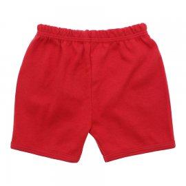 Imagem - Shorts de Bebê Lapuko - 5555-short-lapuko-vermelho