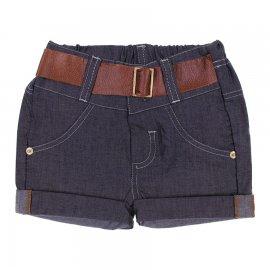 Imagem - Shorts de Jeans para Bebê Cinto de Couro 6312 - 6312-Cinto