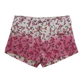 Imagem - Shorts Floral em Sarja - 7730RosaFloral
