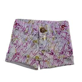 Shorts Infantil Estampado 8618