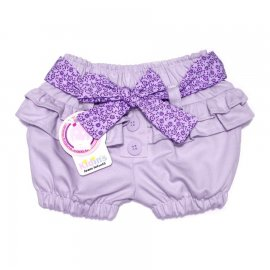 Imagem - Shorts Infantil Feminino 4867 - 4867 - Lilas Sarja