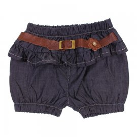 Imagem - Shorts Jeans Infantil com Cinto 6333 - 6333 - Shorts Jeans