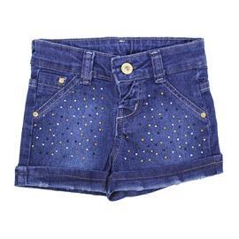 Shorts Jeans com Strass - Cód. 7778