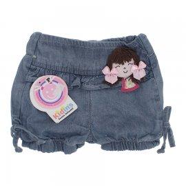 Imagem - Shorts Jeans Menina Laço de fita   - 5015-short-jeans-delave-menina