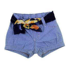Imagem - Shorts Jeans Para Menina - 8619